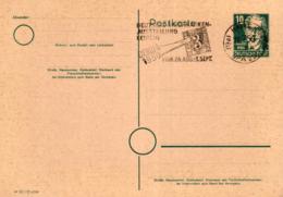 Ganzsache-Sonderstempel-Heimat Beleg .. (ke9195  ) Siehe Scan - [6] Democratic Republic