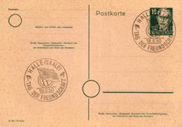 Ganzsache-Sonderstempel-Heimat Beleg .. (ke9196  ) Siehe Scan - [6] Democratic Republic