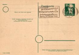 Ganzsache-Sonderstempel-Heimat Beleg .. (ke9197  ) Siehe Scan - [6] Democratic Republic