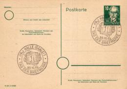 Ganzsache-Sonderstempel-Heimat Beleg .. (ke9198  ) Siehe Scan - [6] Democratic Republic