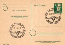 Ganzsache-Sonderstempel-Heimat Beleg .. (ke9199  ) Siehe Scan - [6] Democratic Republic