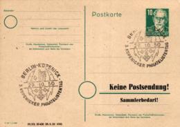 Ganzsache-Sonderstempel-Heimat Beleg .. (ke9245  ) Siehe Scan - [6] Democratic Republic