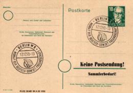 Ganzsache-Sonderstempel-Heimat Beleg .. (ke9244  ) Siehe Scan - [6] Democratic Republic