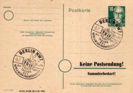Ganzsache-Sonderstempel-Heimat Beleg .. (ke9243  ) Siehe Scan - [6] Democratic Republic