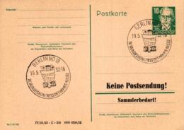 Ganzsache-Sonderstempel-Heimat Beleg .. (ke9242  ) Siehe Scan - [6] Democratic Republic