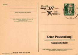 Ganzsache-Sonderstempel-Heimat Beleg .. (ke9241  ) Siehe Scan - [6] Democratic Republic