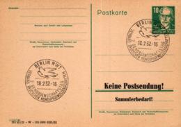 Ganzsache-Sonderstempel-Heimat Beleg .. (ke9238  ) Siehe Scan - [6] Democratic Republic