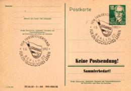 Ganzsache-Sonderstempel-Heimat Beleg .. (ke9237  ) Siehe Scan - [6] Democratic Republic