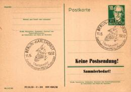 Ganzsache-Sonderstempel-Heimat Beleg .. (ke9236  ) Siehe Scan - [6] Democratic Republic
