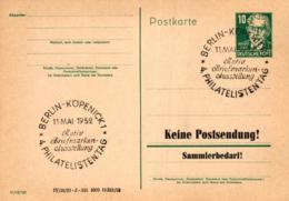 Ganzsache-Sonderstempel-Heimat Beleg .. (ke9235  ) Siehe Scan - [6] Democratic Republic