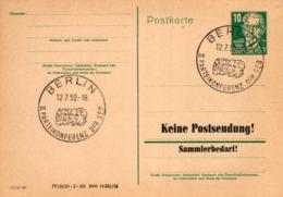 Ganzsache-Sonderstempel-Heimat Beleg .. (ke9233  ) Siehe Scan - [6] Democratic Republic