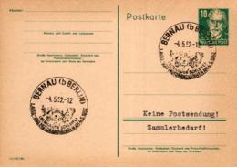 Ganzsache-Sonderstempel-Heimat Beleg .. (ke9232  ) Siehe Scan - [6] Democratic Republic