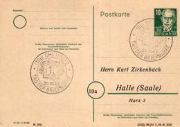 Ganzsache-Sonderstempel-Heimat Beleg .. (ke9219 ) Siehe Scan - [6] Democratic Republic