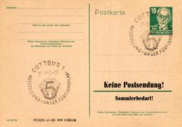 Ganzsache-Sonderstempel-Heimat Beleg .. (ke9214 ) Siehe Scan - [6] Democratic Republic