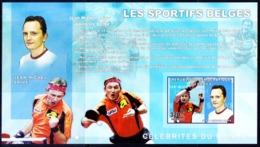 Congo 2006 MNH Imperf MS, Table Tennis, Sports, Jean M Saive, Belgium     ( - Table Tennis
