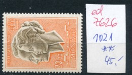 Monaco Nr. 1021     **   (ed7626  ) Siehe Scan - Monaco