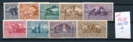 Italien- Eritrea  Nr. 180-88    *   (ed7658  ) Siehe Scan - Eritrea
