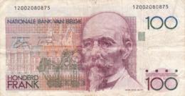 Belgique - Billet De 100 Francs - Hendrik Beyaert - P140 - [ 2] 1831-... : Royaume De Belgique