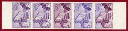 Malagasy Rep 1956 #293, Color Proof Stripe Of 5, Gallieni School - Madagaskar (1960-...)