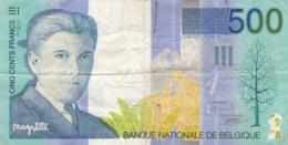Belgique - Billet De 500 Francs - René Magritte - P149 - Voir état - 500 Francs