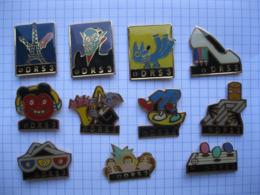 DRS3 Lot De 11 Pin's - Badges