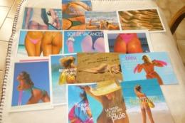 LOT DE 14 CARTES ..BELLES FEMMES SEXY..BELLES VUES (cartes Avec Defauts) - Cartes Postales
