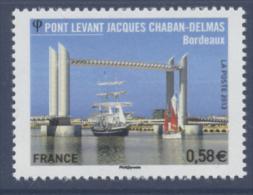 N° 4734 Pont Levant Jacques Chaban Delmas Faciale 0,58 € - France