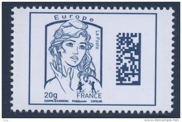 N° 4975 Marianne Datamatrix Faciale Europe 20g - France
