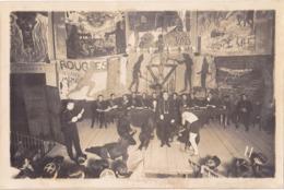 PHOTO FORMAT 15 X 10 ECOLE POLYTECHNIQUE DE PARIS  ELEVES DE 1929  LA COTE  GNOUF  DU  SPECTACLE DES COTES - Photographs