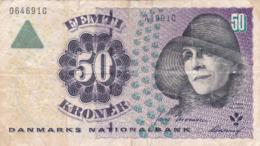 Danemark - Billet De 50 Kroner - Karen Blixen - Denmark