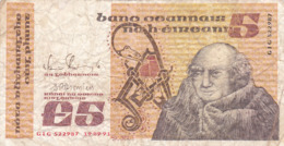 Eire - Irlande - Billet De 5 Pounds - Johannes Scotus Eriugena - 19 Septembre 1991 - P71e - Irland