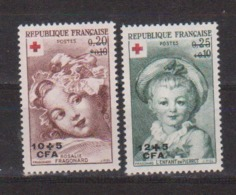 REUNION           N° YVERT  353/54 NEUF SANS CHARNIERES     ( Nsch 01/09 ) - Réunion (1852-1975)