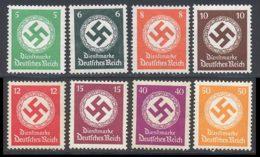 Allemagne Empire Service 1934 Yvert 95 / 100 - 103 / 104 ** TB - Dienstpost