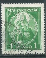 Timbre Hongrie Perforé RMH - Usati