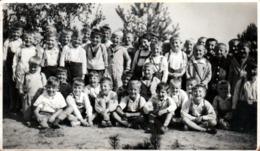 Photo Originale Scolaire De Petits écoliers Polonais De Chmiel - Chmielûs Vers 1930 - Ciclismo
