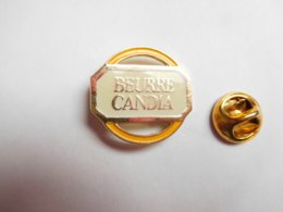 Beau Pin's , JO Jeux Olympiques Albertville 92 , Beurre Candia , Jaune - Olympische Spelen