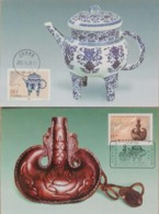 China 2000-13 (MC-42)Hehu Mare's Milk Kettle Joint Kazakhstan  Stamps Maxcards - 1949 - ... Volksrepubliek