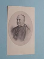 DP > H.E.H Henricus SMEULDERS - Moll 13 Mei 1826 - ROME 28 Junij 1892 ( Bijgesneden Prent ) ! - Todesanzeige