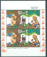 NEW ZEALAND - MVLH/* - 1977 - HEALTH - Yv Bloc 41 Mi 720-725 SG MS1152 Sc B100a  - Lot 20390 - NEARLY MNH/** - Blocs-feuillets