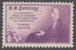 USA 1934. Scott 737. Mothers Of America Perf. 11 X 10½. Neuf, MNH - Etats-Unis