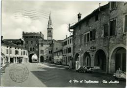 S SAN VITO AL TAGLIAMENTO PORDENONE  Via Amalteo Bianchi Lambretta Meccanico Benzina Calzature Susanna Ciclomotori Vespa - Pordenone