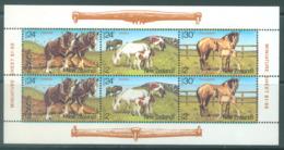 NEW ZEALAND - MNH/** - 1984 - HEALTH  - Yv Bloc 50 Mi 906-908 SG MS1348 Sc B120a  - Lot 20391 - Blocs-feuillets