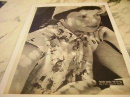 ANCIENNE PUBLICITE FRANCOISE ARNOUL 1955 - Posters
