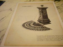 ANCIENNE PUBLICITE L EAU COULE  PANTENE   1955 - Perfume & Beauty