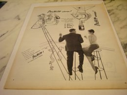 ANCIENNE PUBLICITE BRIGITTE BARDOT ET SODA  PSCHITT CITRON ORANGE 1955 - Posters