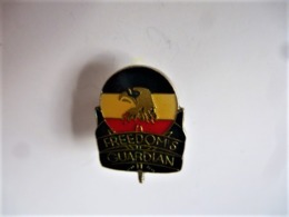 PINS MILITARIA USA ARMY NAVY FREEDOMS GUARDIAN / 33NAT - Militaria