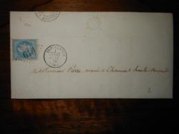 Lettre GC 619 Breuvannes Haute Marne Avec Correspondance - 1849-1876: Période Classique