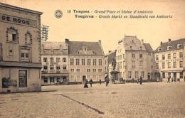 Tongeren - Groote Markt En Standbeeld Van Ambiorix (1923, Oldtimer) - Tongeren