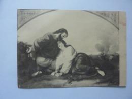 """Cartoncino Pubblicitario Spedito Per Posta  """"ALGIL MAGGIONI Milano"""" 1950 - Pubblicitari"""