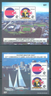 NEW ZEALAND - MNH/** - 1990 - COMMONWEALTH GAMES - Yv Bloc 70-71 Mi Bl 21-22 SG MS1538 Sc 971a-971b  - Lot 20394 - Blocs-feuillets